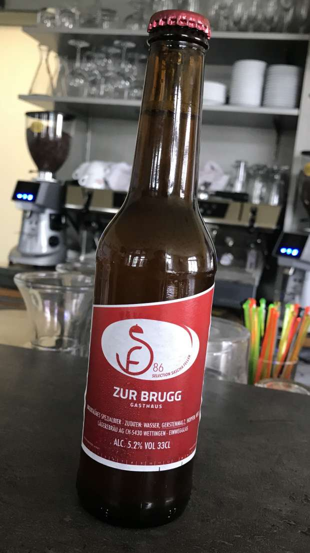 "Bier Selection Sascha Feller ""Zur Brugg"""